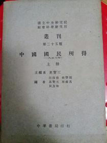 中国国民所得
