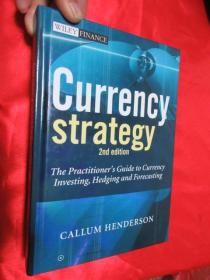 Currency Strategy: The Practitioners Guide To Currency Investing Hedging And Forecasting    (硬精装)     【详见图】