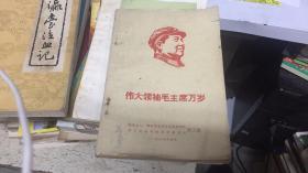 伟大领袖毛主席万岁(文革精品)