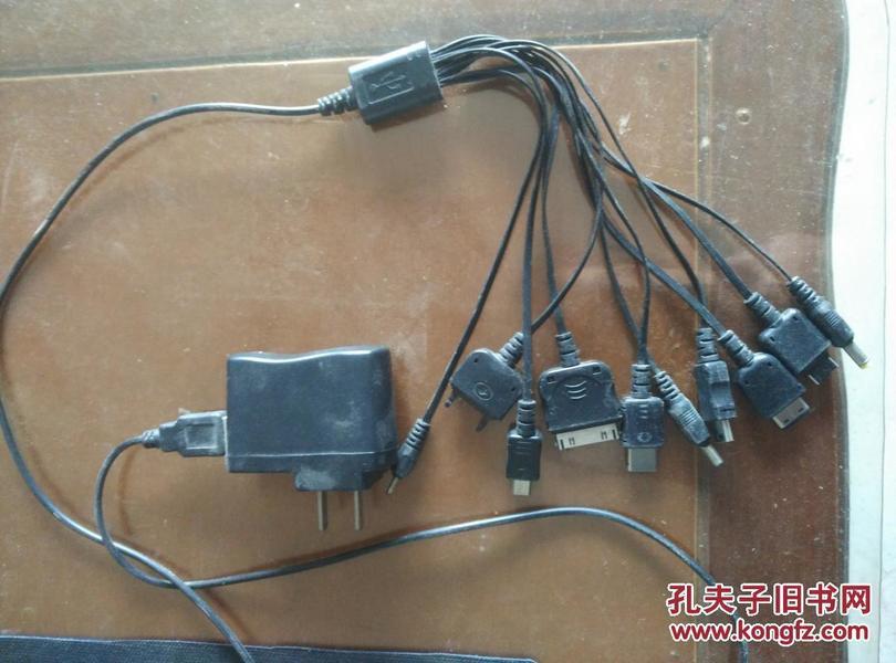 十个插头的充电器,可以使用
