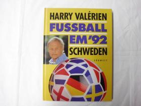 原版1992欧洲杯硬精全彩画册