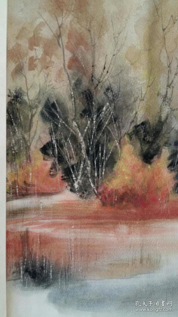 安徽著名画家(朱斌)53×65……水彩图片