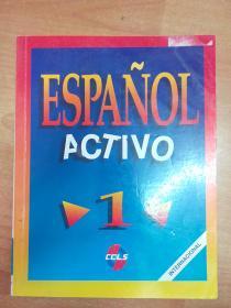 西班牙文原版书:Español Activo 1 西班牙语教材 1 (大16开本)