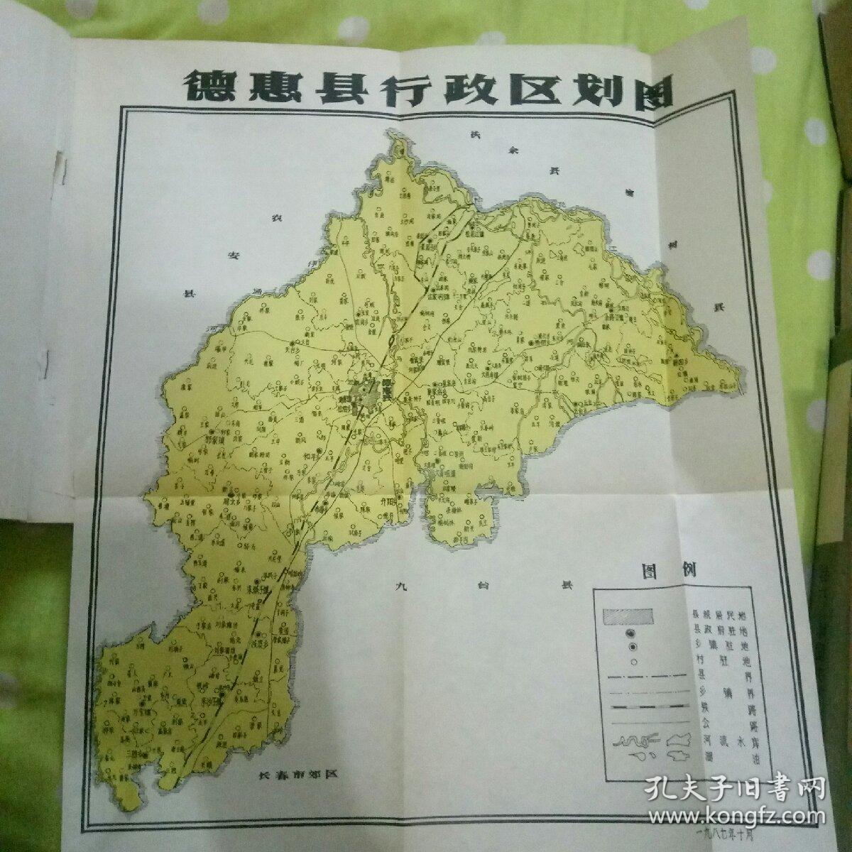 吉林省德惠县史资料.图片