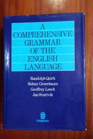 2 英国进口原装无瑕疵未阅  有英国赠送章见图  Dictionary  A COMPREHENSIVE GRAMMAR OF THE ENGLISHLANGUAGE 英语语法大全
