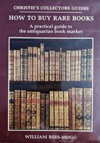 《善本书收藏指南》佳士得出版西方古籍善本珍版书收藏要点书话书