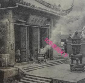 杭州天竺寺拜佛的人们