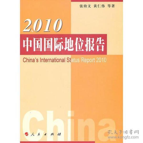 2010中国国际地位报告