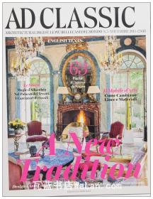 AD Classic杂志 意大利语版 建筑辑要 安邸 建筑文摘 样板房装饰陈列外文杂志 ARCHITECTURAL DIGEST A new tradition