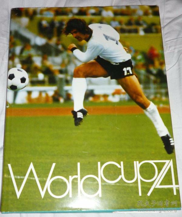 原版带软封1974世界杯铜版硬精画册
