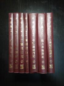 精装非卖品《妙云集》 上中下三编 24册全 印顺法师著 1981年 仅印1000部