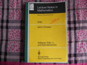 Selberg's Zeta-, L-, and Eisensteinseries (Lecture Notes in Mathematics)  原版