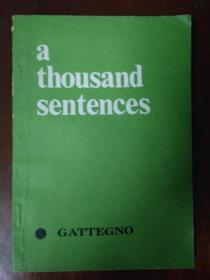 a thousand sentences