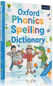 英文原版 Oxford Reading Tree 牛津出版社幼儿自然拼读字典 Phonics Spelling Dictionary 牛津阅读词典 英英词典 5岁适用