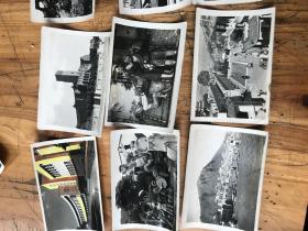 2592:早期 香港(月国游艺场 浅水湾 万金油花园  跑马场 登山电车 千诺道 半岛酒店  湾仔  九龙汽车渡轮等》风景  佛像 雕塑 建筑 黑白 照片75张
