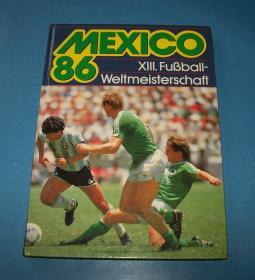 硬精1986世界杯画册