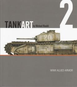 TANKART Vol 2 - WWII Allied Armor(塑封全新)