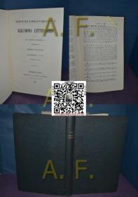 CONRENTIN PETILLON: ALLUSIONS LITTÉRAIRES   VARIÉTÉS SINOLOGIQUES N° 8 & 13  稀见上海土山湾印刷品