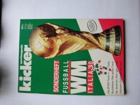 原版KICKER1990世界杯赛前特刊