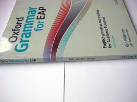 Oxford Grammar for EAP: English Grammar and Practice