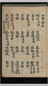 女科诸症 中医,医学类书籍,妇产科相关 173页