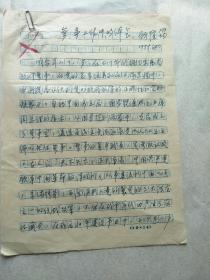 国民政府少将、湖南九战  区保安副司令顾隆筠钢笔文稿四页(参事工作中的体会)
