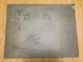 1930年日本《京都步兵第九联队》合影照片一大张,厚纸相册装裱