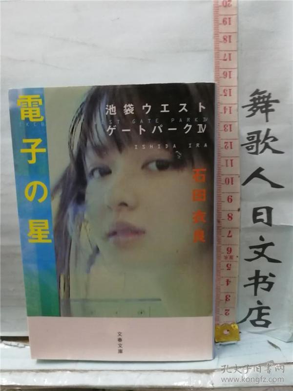 い石田衣良 电子の星 池袋ウエストゲートパーク4 日文原版64开文库小说 日语正版