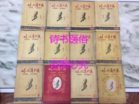 哈尔滨中医(后更名为:黑龙江中医):1959年第1至12期、1960年第1至4期、6至12期、1961年第4、8期、1962年第2-3、7、8期、1963年第1至6期、1964年第2、3、5、6期、1965年第1至9期、黑龙江中医药:1965年第1至3期(第1期是创刊号)、1966年第1至6期(第6期为停刊号) 合售——名中医刘竹林藏书