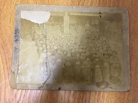 明治32年(1899年)日本小学校女生合影照片一张