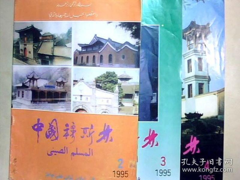 中国穆斯林1995.2  3  4  三本合售