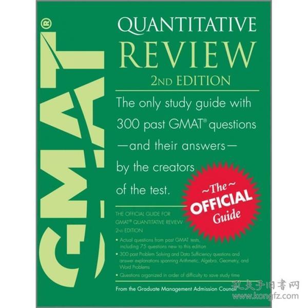9780470747445GMAT Quantitative Review GMAT 数量部分复习指南[英文]