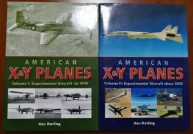 American X & Y Planes Vol.1 & Vol.2  美国试验与原型飞机 2册合售