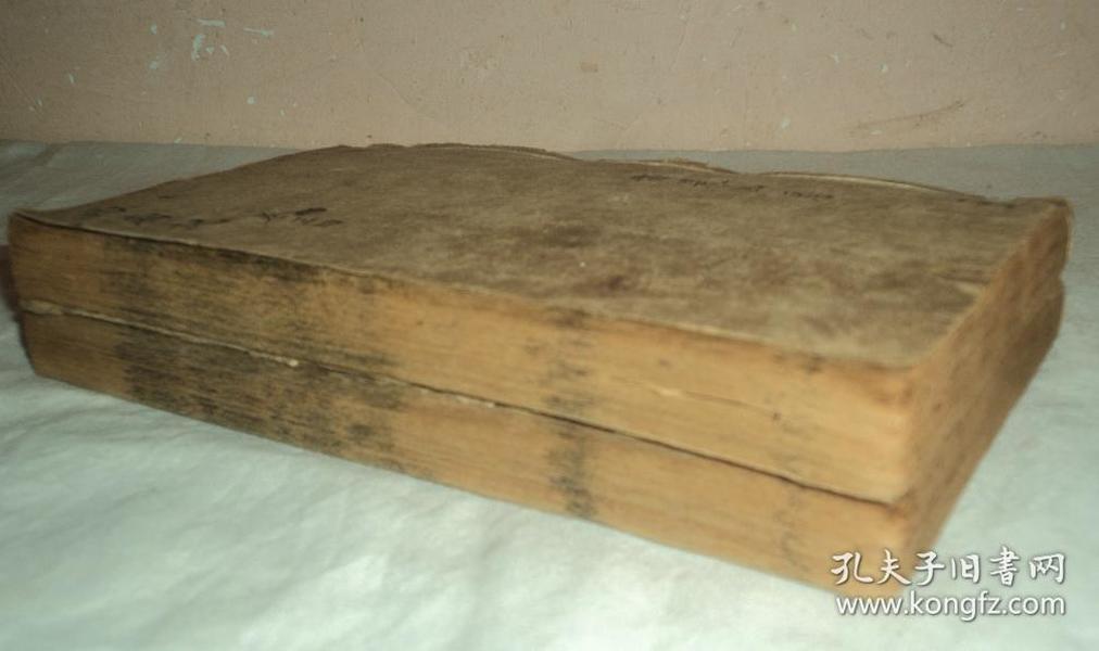 清代木刻贯华堂注释第六才子书、【西厢记】、卷三、四、五、六,四册合订为超厚两册。