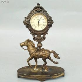 纯铜马到功成机械表