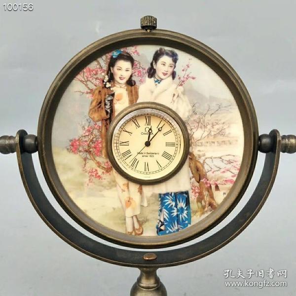 纯铜镜子机械表