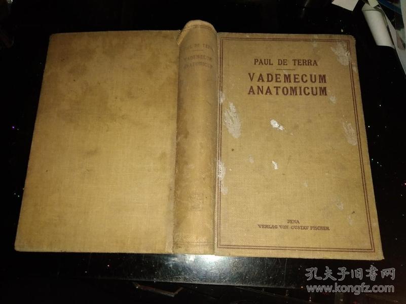 Vademecum anatomicum【德文原版】
