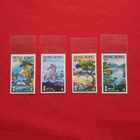 香港邮票HS20香港公园海洋公园九龙公园植物公园郊野公园动物邮票收藏珍藏集邮