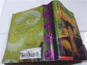 原版英法德意等外文书 HARRY POTTER AND THE GOBIET OF FIRE J.K.ROWIING SCHOLASTIC INC 2000年 32开平装