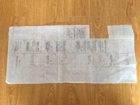 70年代日本手书制作《净土宗 玄洞院明誉禅门 传系家谱》