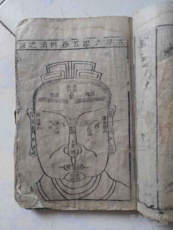 木刻神相全集      五册  是不是一套 不确定