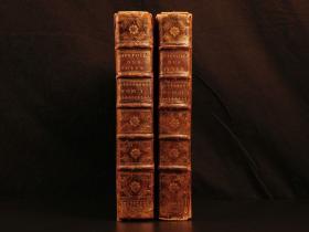 1700年版《古代犹太历史》犹太战争犹太教的历史,小牛皮精装,非常罕见