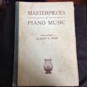 MASTERPIECES OF PIANO MUSIC钢琴名曲270首 英文版