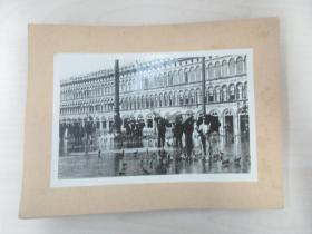 清华大学建筑系旧藏照片资料  12张  尺寸16×10.5厘米 尺寸大小不一