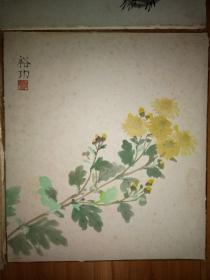 晚清民国《梅兰竹菊》册页4张。包老
