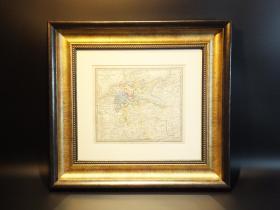[吉守信艺术品宝库] 西洋古董地图精品系列(ASD1258) 19世纪铜版德国联邦状态总览地图         这是一副19世纪中期的德国联邦总览地图,请注意德国联邦不是联邦德国(BUNDESREPUBLIK DEUTSCHLAND),西德成立是在1949年,而德国联邦的叫法是在德意志国建立(1871年)之前。