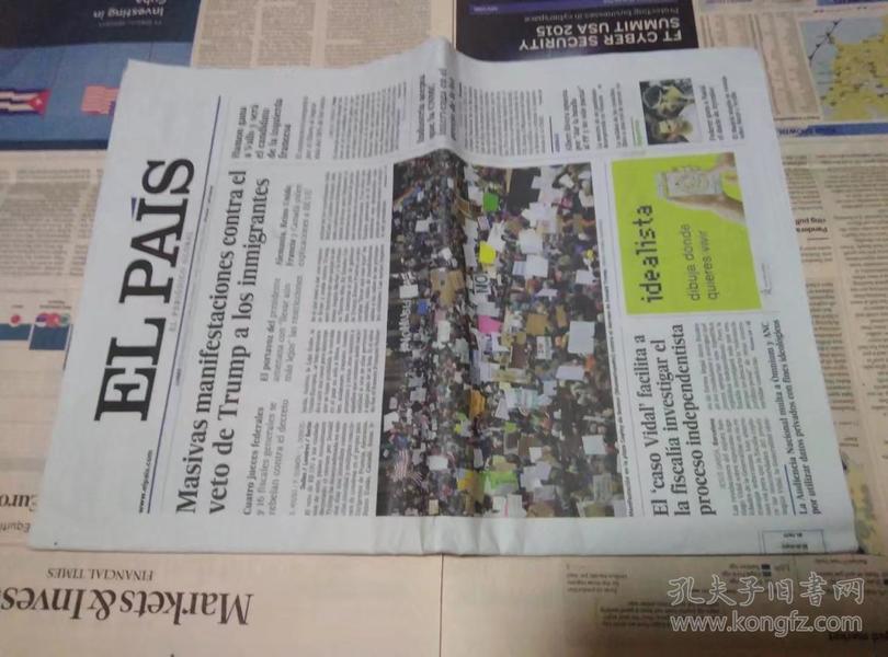 EL PAIS 西班牙国家报 2017/01/30 外文报纸学习参考资料 EL PAÍS: el periódico global en español