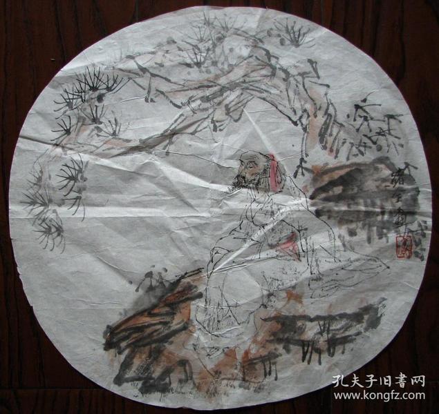 杭州—绪全团扇人物