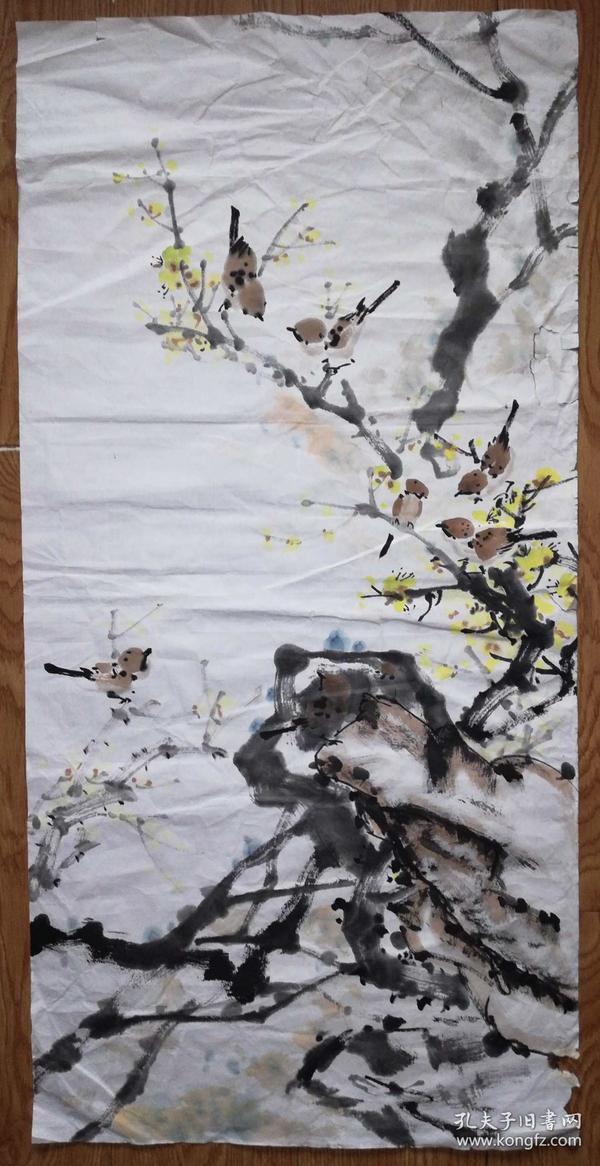 手绘真迹国画:无款20180715-21