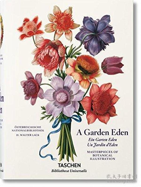 A Garden Eden Botanical Illustration花园蔬菜植物花卉手绘手稿
